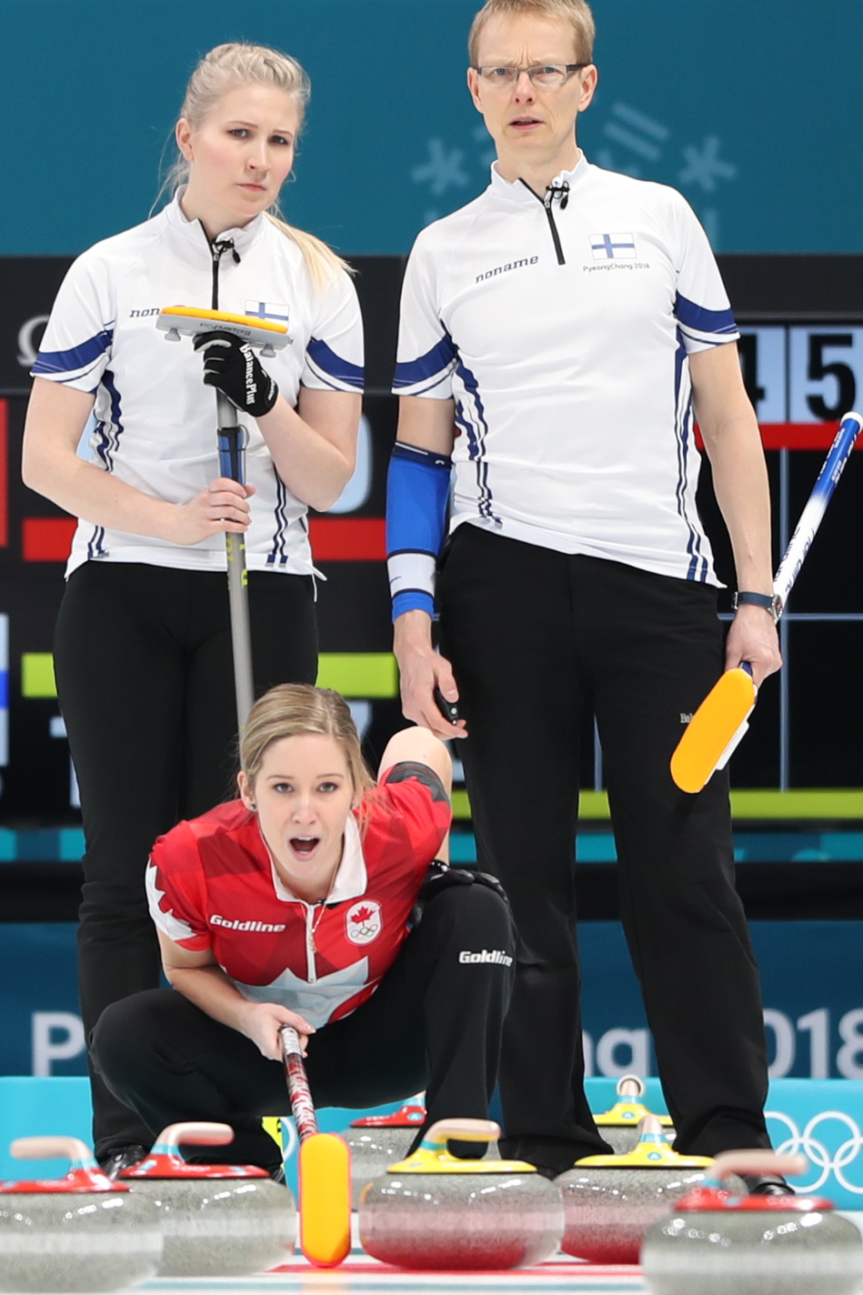 venäjän curling naiset